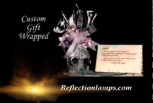 Memory Lamps - The Perfect Sympathy Gift / A beautiful Tiffany style accent lamp, along with a heartfelt personalized verse, is a treasured and comforting gift during difficult times.