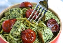 Healthy Pasta and Noodles / Swap refined pasta for whole-grain or vegetables (zucchini, carrots, squash) for a low-carb (and healthier!) dish.