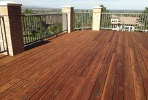 Best Deck Stains  / Here is a sample of some different deck stains we use to restore decks.  All of the pictures are taken after thorough prep work consisting of sanding, cleaning, and power washing.