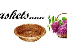 Baskets / Flowers n more provides baskets with high finish be it imported baskets or Cane Baskets at wholesale price.  Visit us for more info http://flowersnmore.co.in/