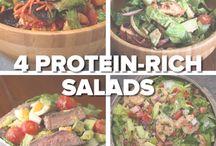 4 protein rich salads