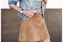 Dress // Camel Skirt