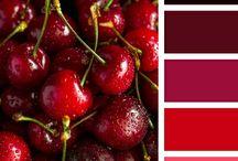RED | ČERVENÁ / Červená - je jednou ze tří primárních barev a její vlastnosti jsou všeobecně známé. Tato barva úspěchu, zdraví a erotiky též uvolňuje blokované pocity a zrychluje srdeční činnost člověka. Je velkým pomocníkem při utváření útulného prostředí. Je vhodné ji použít v místnostech, kde chceme upoutat pozornost, podpořit aktivitu a energii. Červenou lze použít v široké škále tónů, odstínů i pastelů, v různé sytosti a světlosti... http://paletabarev.webnode.cz/red/