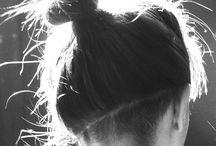 łomen włosy