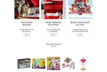 2015 Holiday / Landing Pages and Emails from Holiday 2015