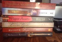 Spine Poetry / Fun concept of using the spines of books to create fun, meaningful, or creative poems or phrases