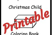 Operation Christmas Child / by FBSPreschoolMinistry