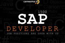 SAP Developer jobs / Jobs Sap-abap Developer Chennai vacancies in Careesma. 1593 job offers in Careesma for Sap-abap Developer Chennai. You can see all the jobs for Sap-abap Developer Chennai, Page... / by Careesma.in India