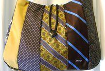 Afneke / Patchwork stropdastassen