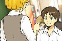 Armin x Eren / Armin x Eren