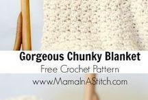 chuncky chrochet blancket