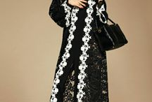 Dolce & Gabbana #dgabaya / Dolce & Gabbana Abaya Line of Hijabs and Abayas for Marvelous Women of Arabia! Precious Fabrics with Embroidery Lace. More insights on @dolcegabbana.