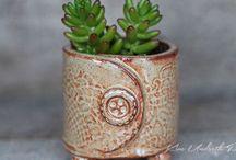 Clay slab pottery