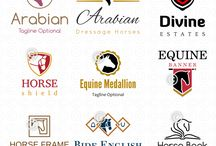 Horse Logos for Sale / Equine logos for sale at Horse-Logos.com. Ready made logo designs with horses for equestrian and other businesses.