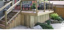 Custom Woodwork / Custom woodwork design and installed by Old South Landscape Professionals, a landscape design and build company located in London, Ontario, Canada