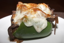 Food - Stuffed peppers / by Ivy Fallorina