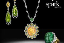 One-of-a-Kind Collection / Discover the One-of-a-Kind collection of timeless, classic and unique jewelry pieces from Spark Creations. We use only the highest quality of diamonds, rare gemstones and specious stones to infuse elegance into every design.
