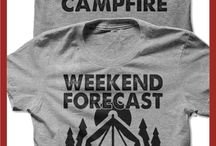 Glamping / Making camping pretty.