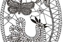 Lace, Bobbin lace - for inspiration