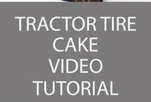 Traktor torták