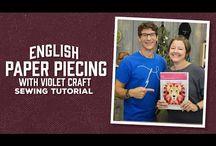 English paper piecing Hexies