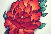 Flowers tattoossignzz