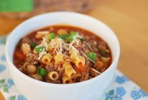 Soup~Stew~Chili Yumminess! / If it's in a bowl, it goes on this board! / by Lin Larson