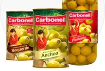 Aceitunas Carbonell / Transforma tus platos, en platos con alma con las aceitunas Carbonell ;)