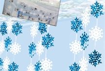 Winter Wonderland / Winter party ideas. Frozen. Holidays. Decorations. Tableware. Crafts. Recipes. Accessories.  / by Windy City Novelties