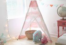 Baby Girl Nursery / by Cari Wallace