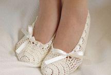 Crochet Slippers Shoes Sandals Flip Flops
