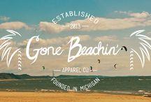 Gone Beachin' Apparel Co. / Exploring the company.