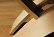Table basse design marquetée