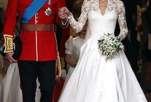 William and Kate.                  The duke and ducess of Cambridge