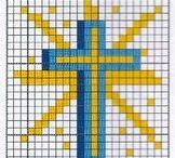 comunione fili punto croce