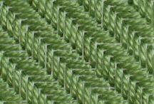 Вышивка на пластиковой канве