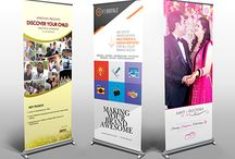 Promotional - Rollup Banner Designs