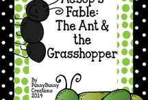 Aesops The Ant & The Grasshopper