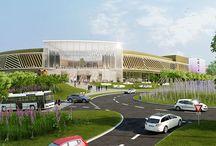 Les Allées Shopping à Bayonne / Le promoteur immobilier SODEC a fait appel au studio Piranèse pour la réalisation d'un film promotionnel et d'images de synthèse pour un nouveau centre commercial situé à proximité de Bayonne. Ce nouveau centre, baptisé Les Allées Shopping, ouvrira ses portes en 2017.
