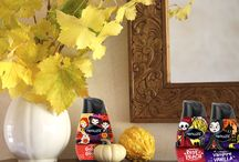 Halloween Scentspirations / Seasonal home decor ideas based on the Renuzit® Halloween scents.