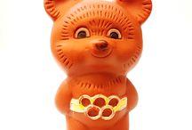 Bear MISHA Mascot OLYMPIC GAMES MOSCOW 1980 USSR