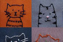 Embroidery, Felt and more...