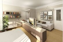 obývací pokoj+ložnice