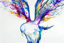 Splatter/Watercolour/Painting Art