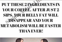 drink coffee and reduce belly fat