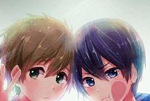 Makoharu are cute :))