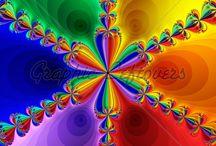 Colour a rainbow