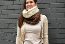 Winter Accessories- 2017 Collection / Cruelty-free, ethically sourced, and eco-friendly knitwear. Each item is one of a kind and handmade here in Toronto, Canada. This board features warm winter headbands and scarves.