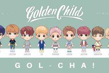 GOLDEN CHILD a.k.a GOL-CHA! -- FANART / FANART by @ratnayeol GOLDEN CHILD is INFINITE's Brother Since: August, 28 2017
