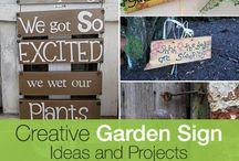 Garden Sign Ideas